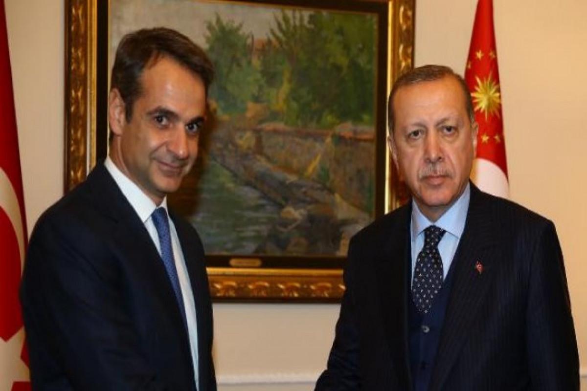 NATO qərargahında Türkiyə Prezidenti ilə Yunanıstan Baş naziri arasında görüş keçirilib