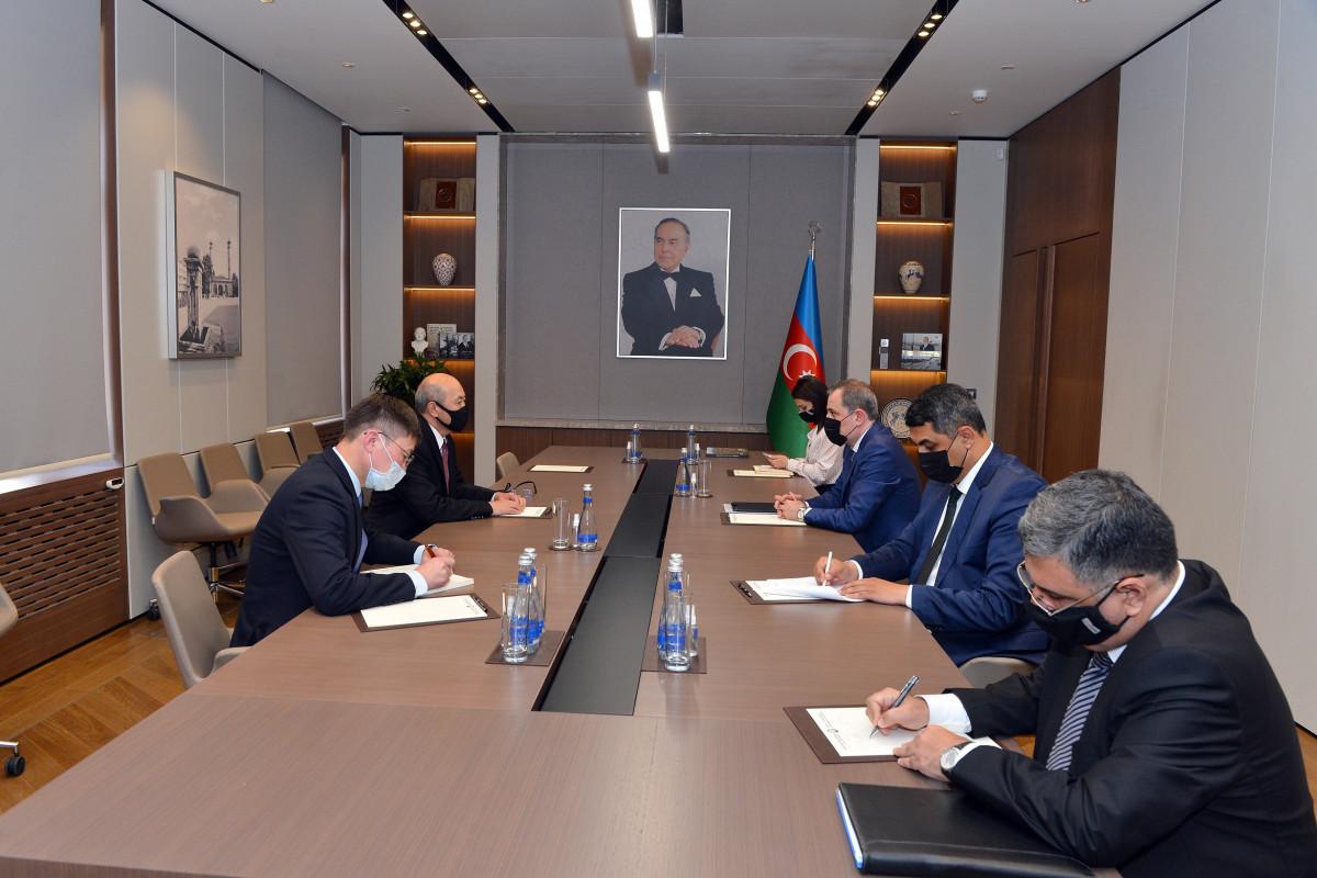 Azerbaijani FM received non-resident ambassador of Mongolia to Azerbaijan