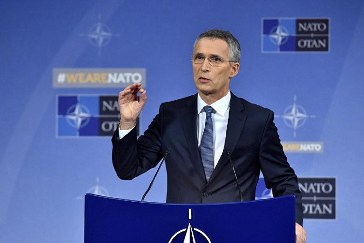 """NATO-nun Baş katibi: """"Türkiyəyə milyonlarla suriyalıya ev sahibliyi etdiyinə görə təkrar minnətdarlığımızı bildiririk"""""""