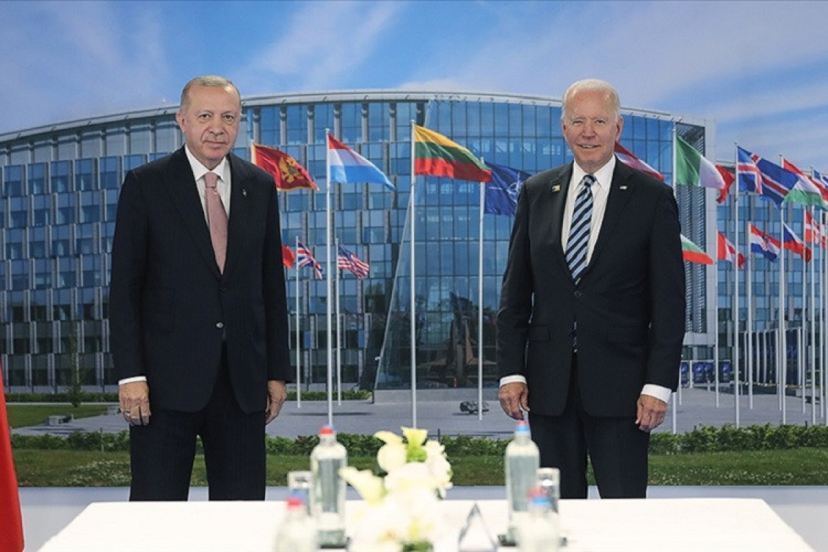 Turkish president meets US counterpart at NATO summit