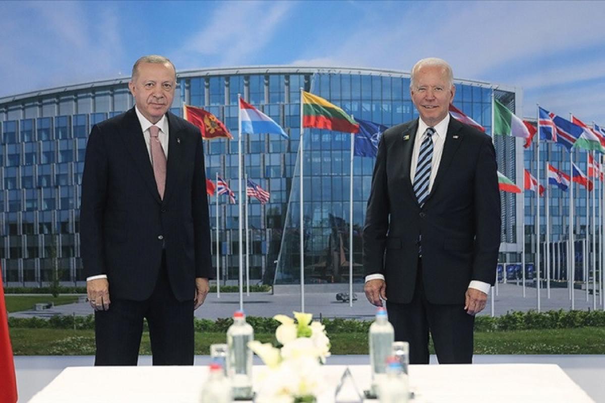 """В Брюсселе состоялась встреча Эрдогана и Байдена-<span class=""""red_color"""">ОБНОВЛЕНО-<span class=""""red_color"""">ФОТО"""