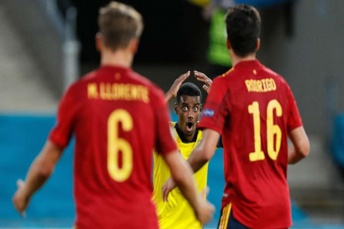 """<span class=""""red_color"""">Евро-2020: Сборные Испании и Швеции сыграли вничью"""