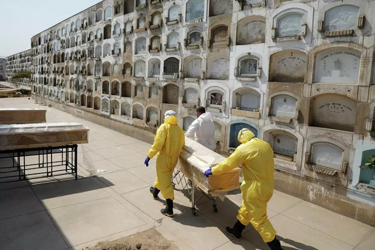 Braziliyada bir gündə 827 nəfər koronavirusdan ölüb