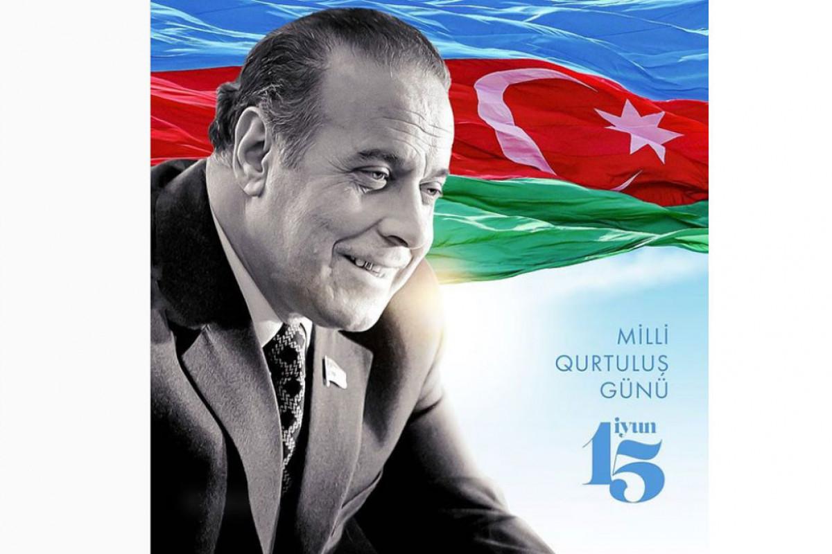 First Vice-President Mehriban Aliyeva congratulated Azerbaijani people on National Salvation Day