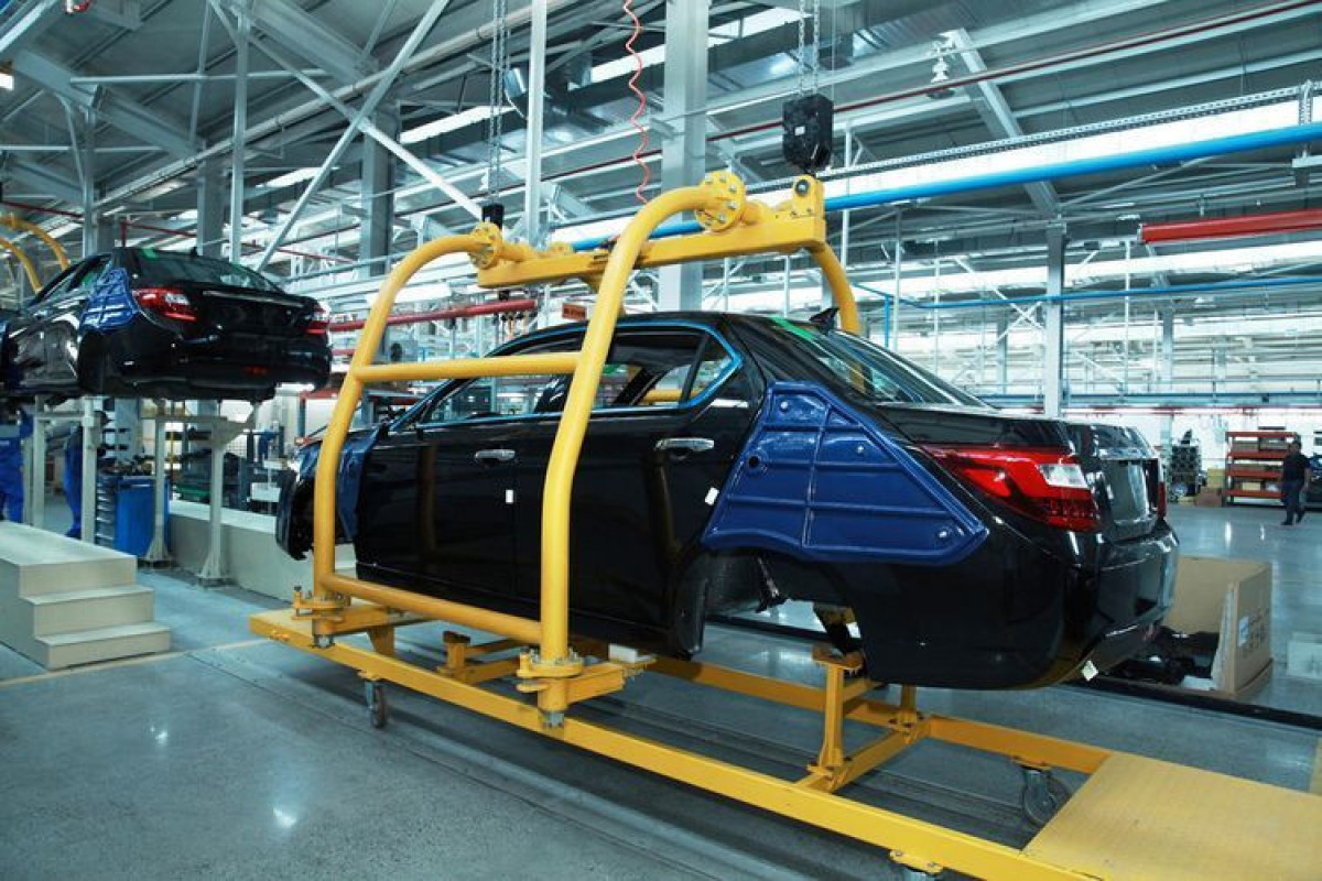 Car production in Azerbaijan increased by 45% in May