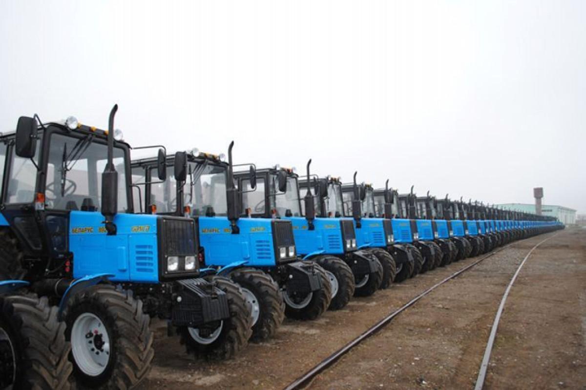 Azərbaycan traktor istehsalını artırıb