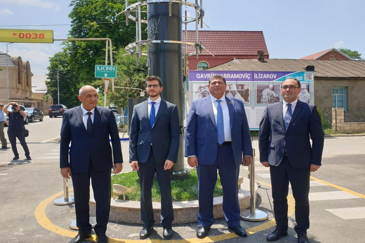 В Гусаре открыли памятник в честь Гавриила Илизарова