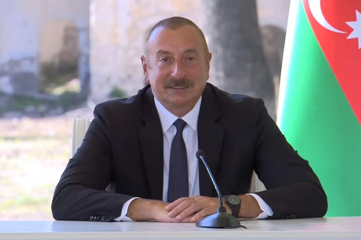 "Azerbaijani President: ""Shusha Declaration on Allied Relations raises Azerbaijani-Turkish relations to the highest peak"""