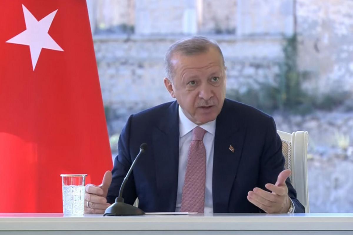 """Türkiyə Prezidenti Şuşadan Ermənistana çağırış edib - <span class=""""red_color"""">VİDEO"""