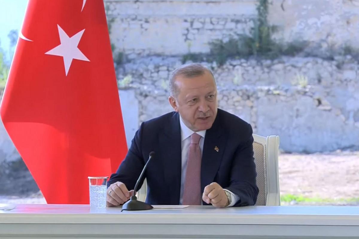 "Erdogan: ""Turkish-Azerbaijani relations in field of defense industry will further develop"""