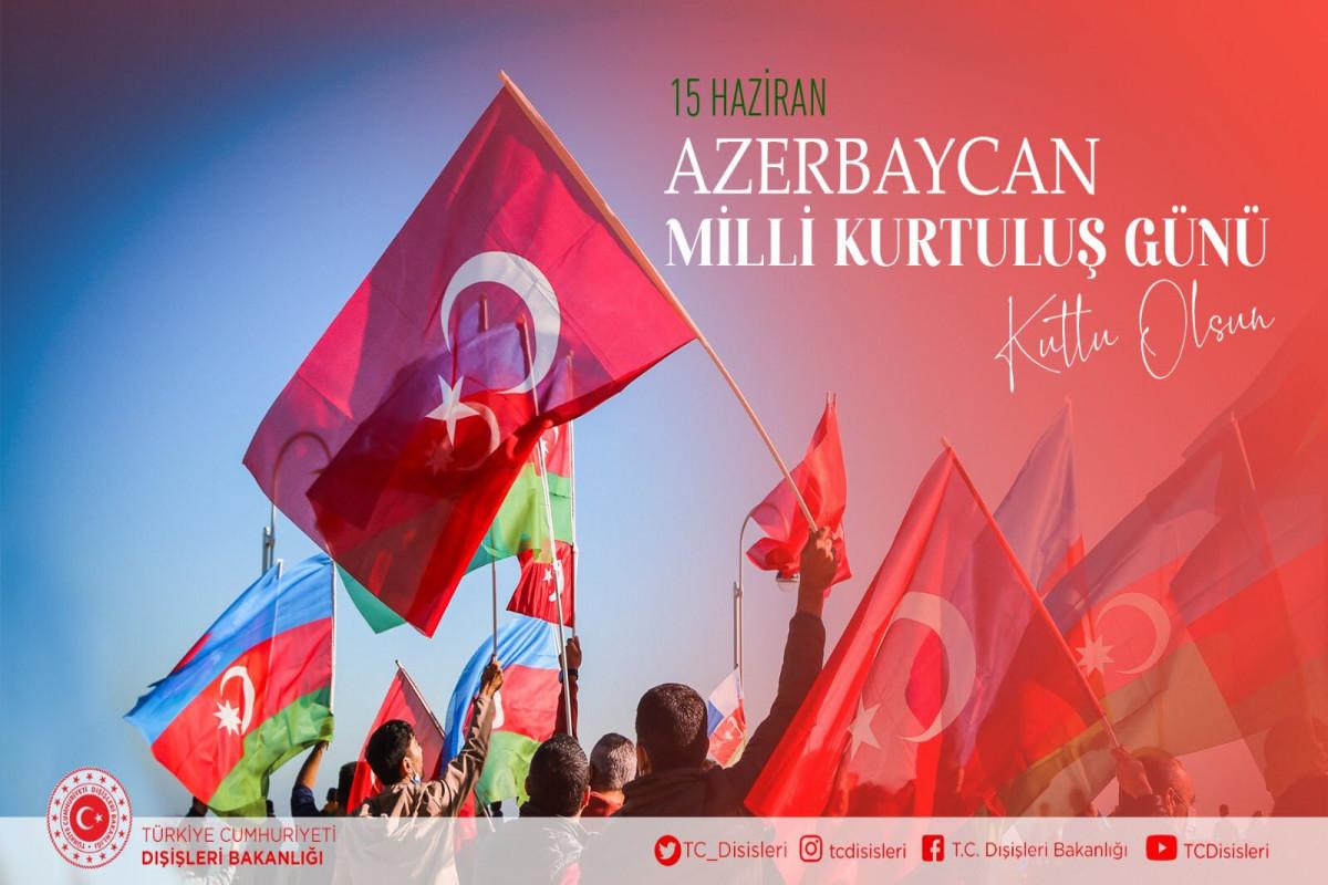 Turkish MFA congratulates Azerbaijani people on Salvation Day