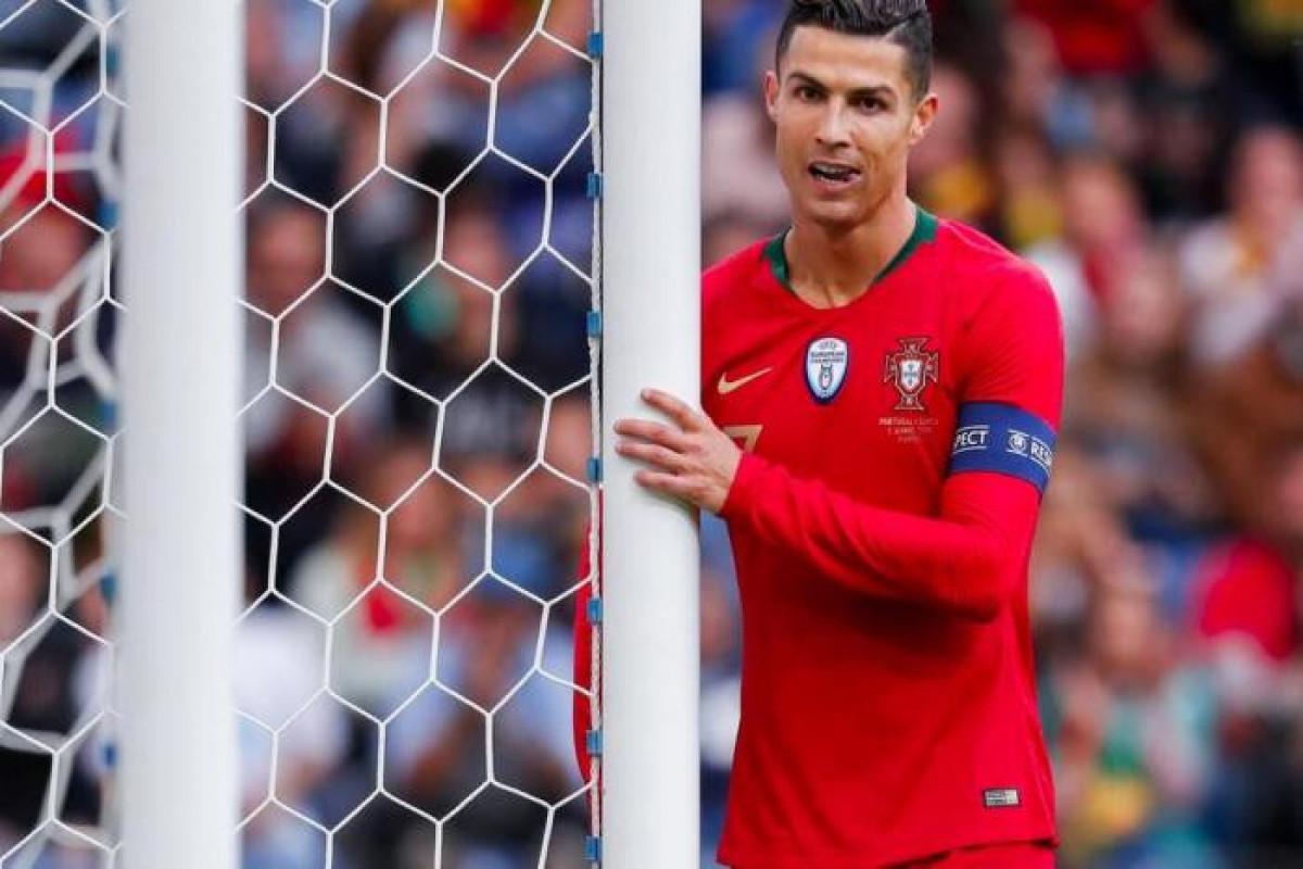 """<span class=""""red_color"""">AVRO-2020: </span>Kriştiano Ronaldodan Avropa çempionatları tarixində ən çox qələbə qazanan futbolçu olub"""