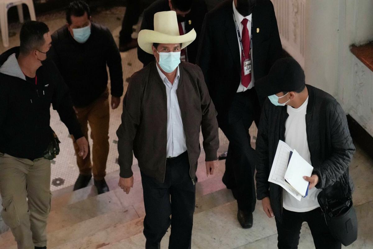 На выборах президента Перу победил Педро Кастильо