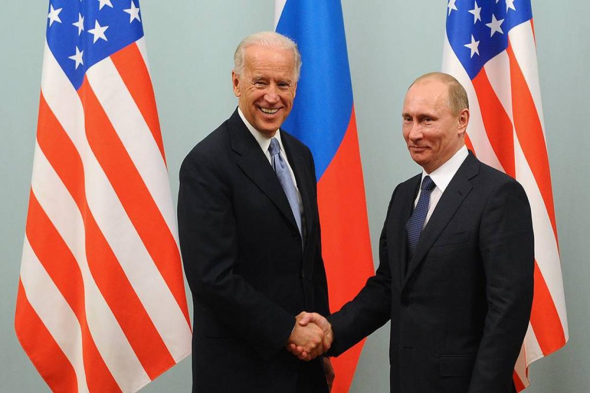 Bu gün Bayden və Putin arasında keçiriləcək görüşün vaxtı açıqlanıb