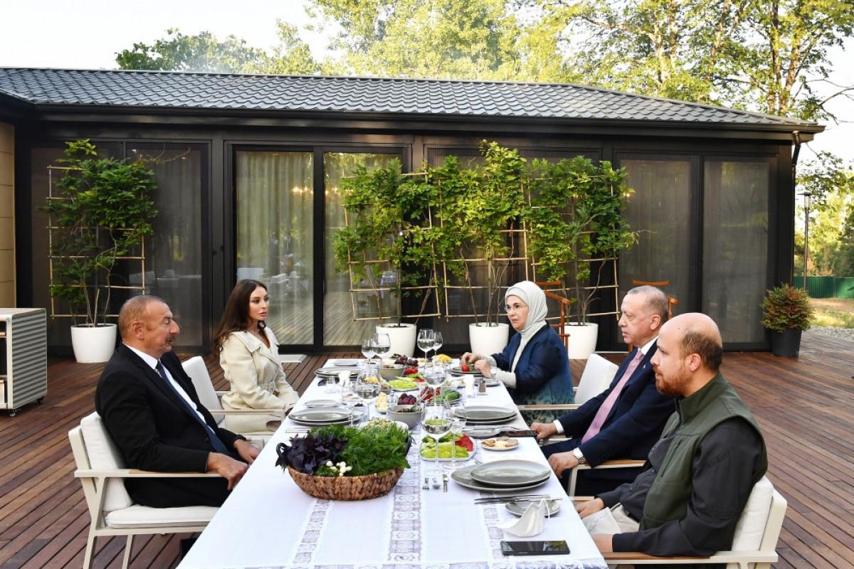 Presidents of Azerbaijan and Turkey had joint dinner in Shusha