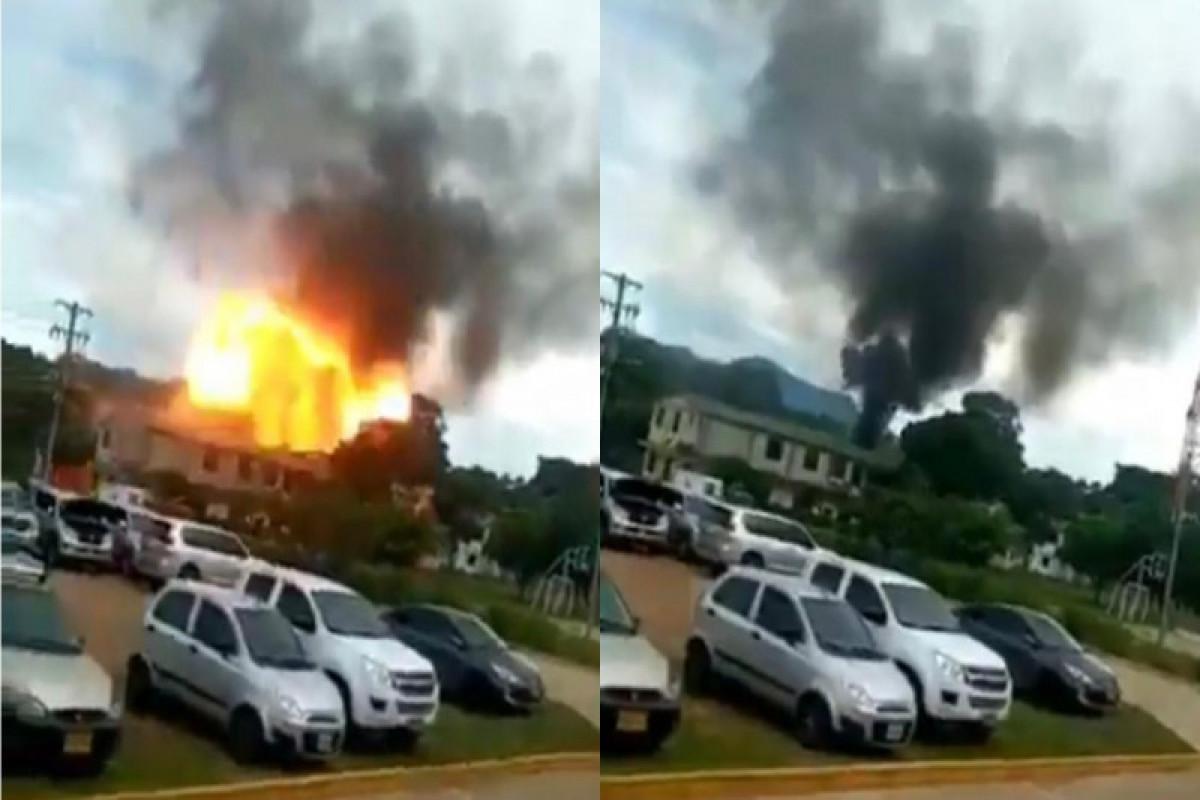 Kolumbiyada hərbi hissədə baş verən partlayış nəticəsində 30-dan çox əsgər yaralanıb