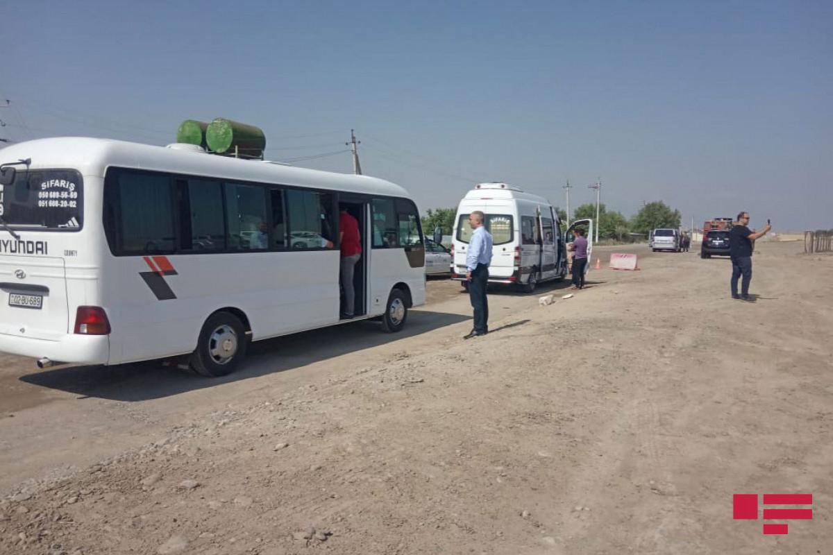 Началась поездка группы журналистов в Физулинский район
