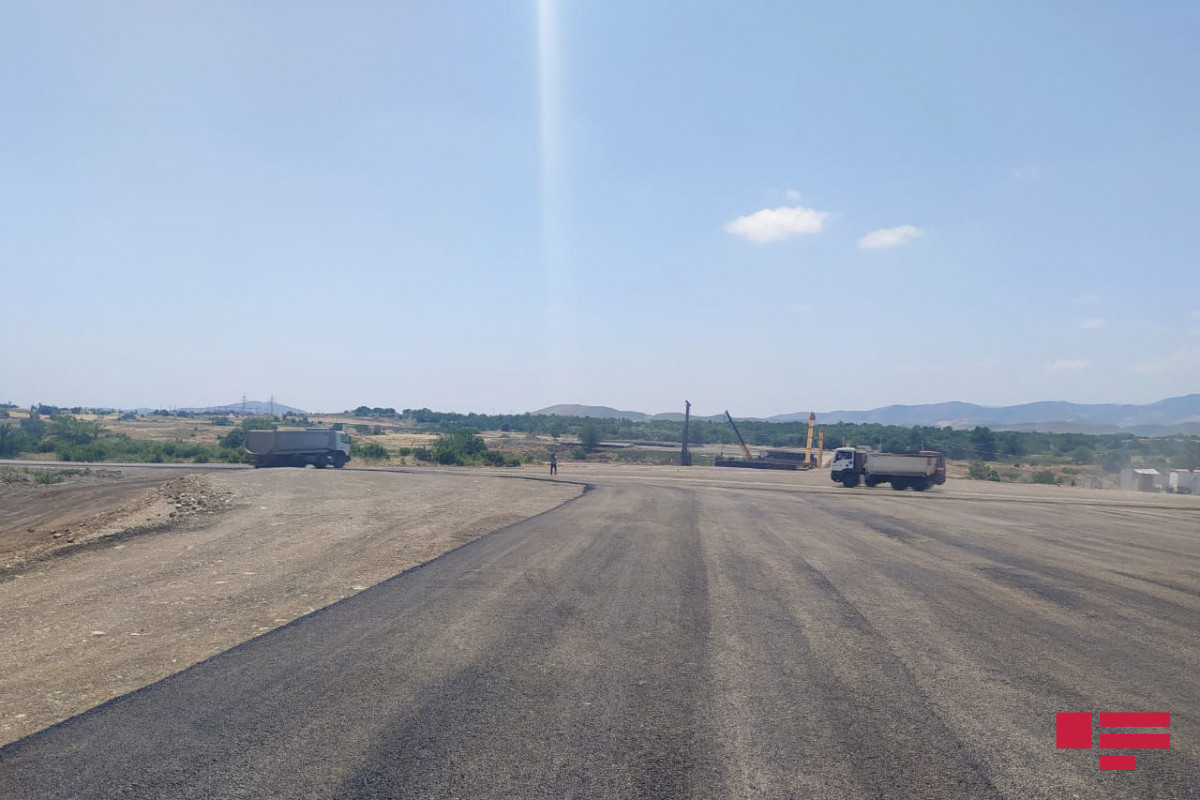 State Agency: 75-80% of works on construction of Ahmedbeyli-Fuzuli-Shusha- Victory road completed