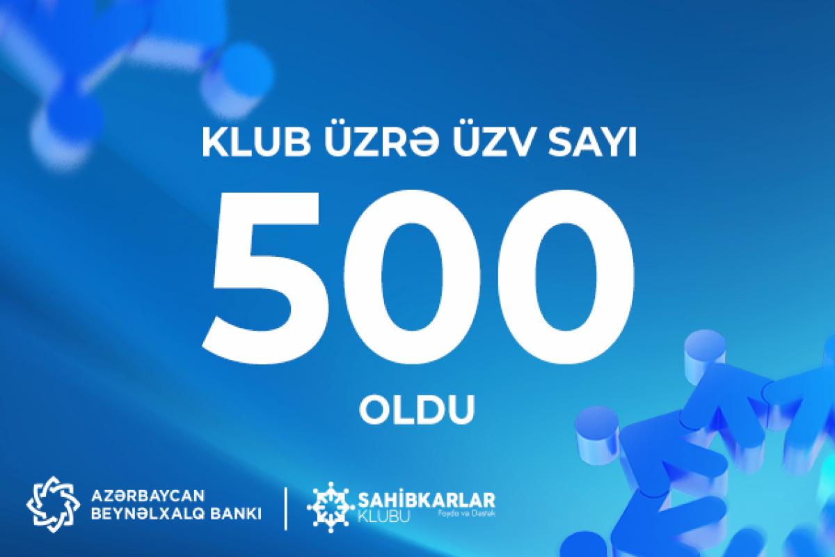 Sahibkarlar Klubu üzvlərinin sayı 500-ə çatıb