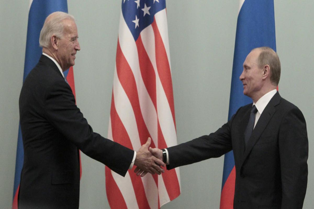 Путин прибыл в Женеву для встречи с Байденом