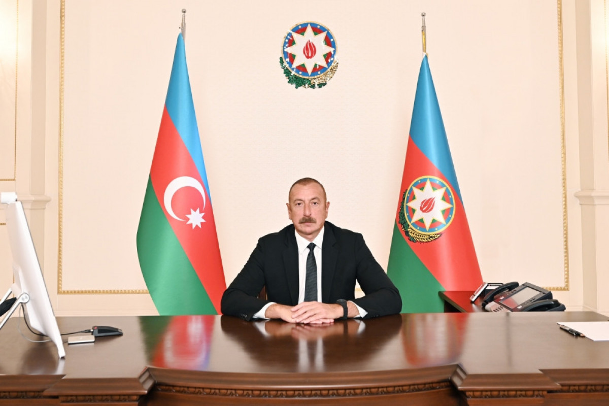 Представлено выступление президента Ильхама Алиева в видеоформате на втором Саммите ОИС по науке и технологиям
