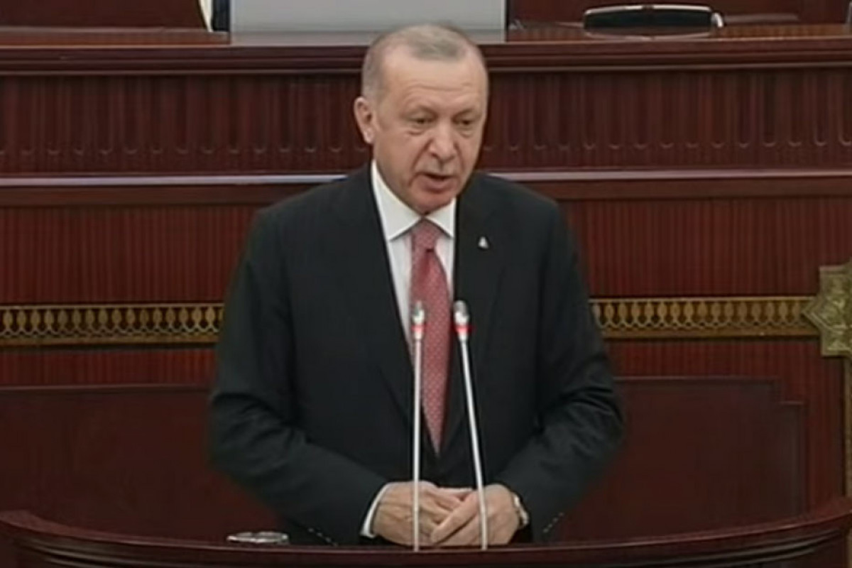 """Erdogan: """"Bleeding wound in the Caucasus has healed. All countries in the region will benefit from this"""""""