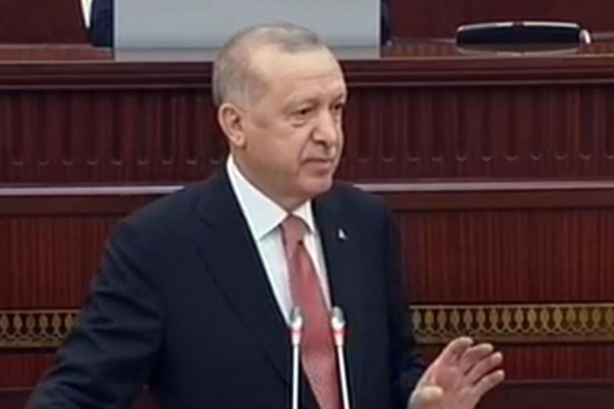 """Erdogan: """"Those who wanted the continuation of the conflict in Karabakh benefited from it"""""""