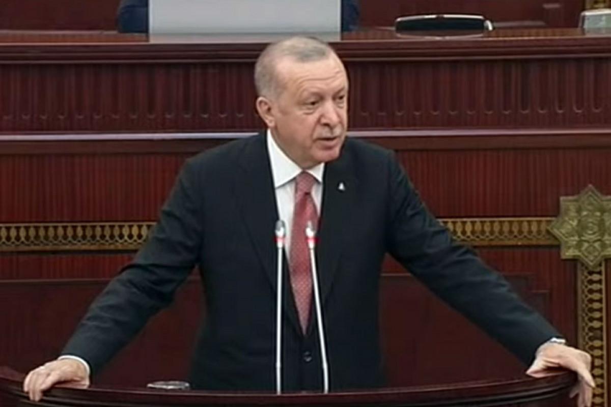 "Turkish President: ""Azerbaijan's joy is our joy, freedom is our freedom, and sorrow is our sorrow"""