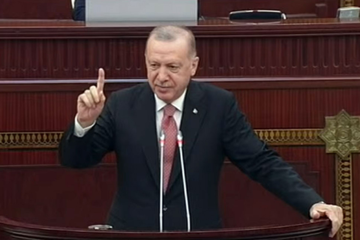 Erdogan: Like Ahmad Agaoglu, Shusha, the home of geniuses known not only in Azerbaijan but also in Turkey, revives
