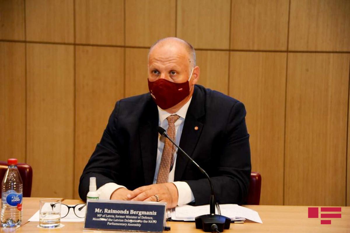 Бывший министр обороны: Латвия верит, что отношения между НАТО и Азербайджаном на пользу обеим сторонам
