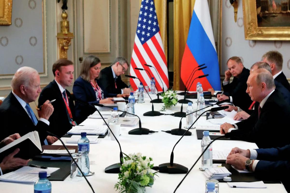 Putin-Bayden görüşü başa çatıb