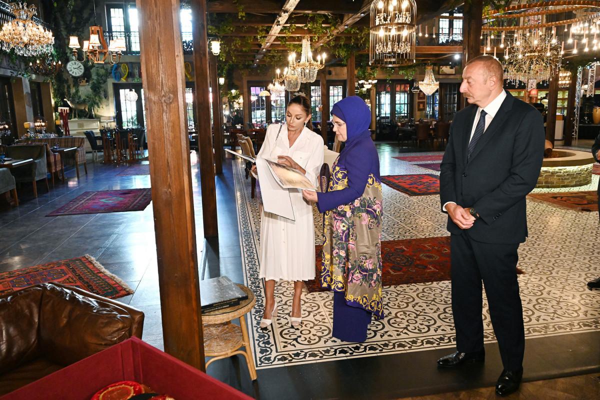 От имени президента Ильхама Алиева дан обед в честь Эрдогана-<span class=