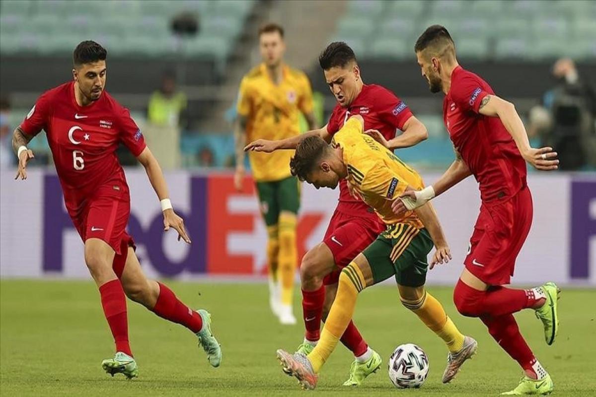 Turkey stunned by Wales 2-0 in EURO 2020