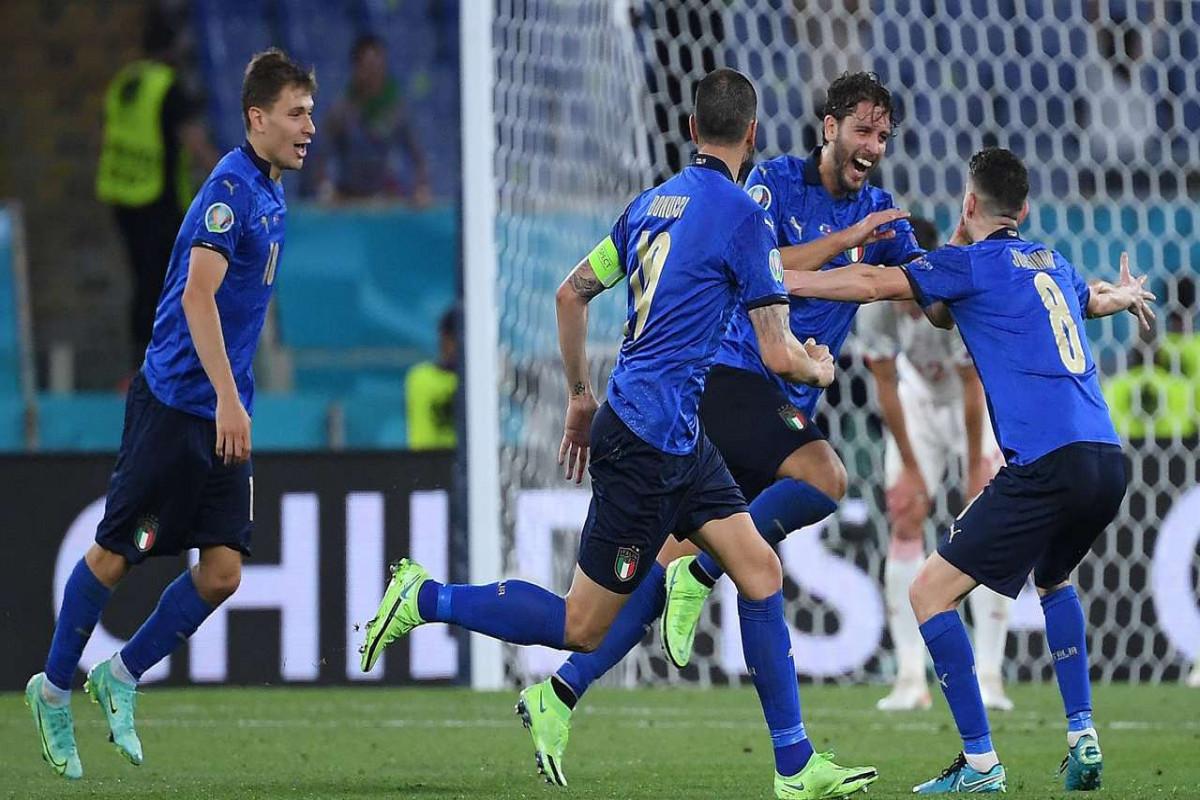 """<span class=""""red_color"""">Евро-2020:</span> Сборная Италии первой вышла в 1/8 финала"""