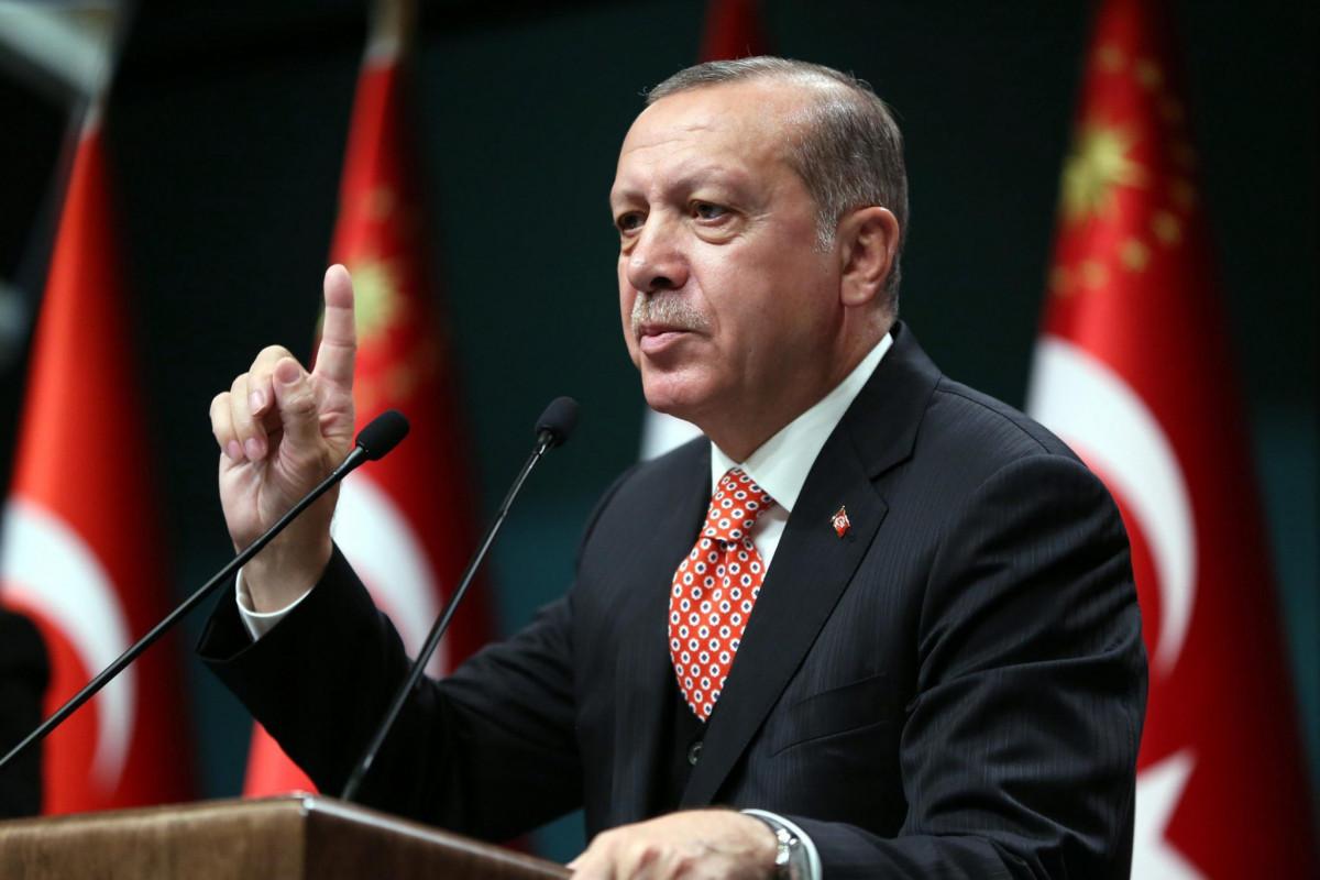 """Эрдоган поделился публикацией в связи с визитом в Азербайджан-<span class=""""red_color"""">ВИДЕО</span>"""