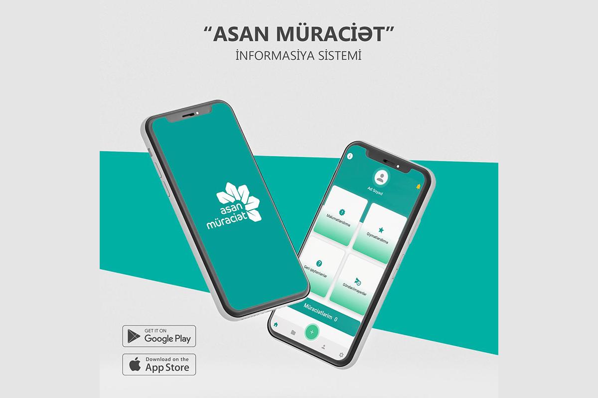 """""""ASAN müraciət"""" mobil tətbiqi istifadəyə verilib"""