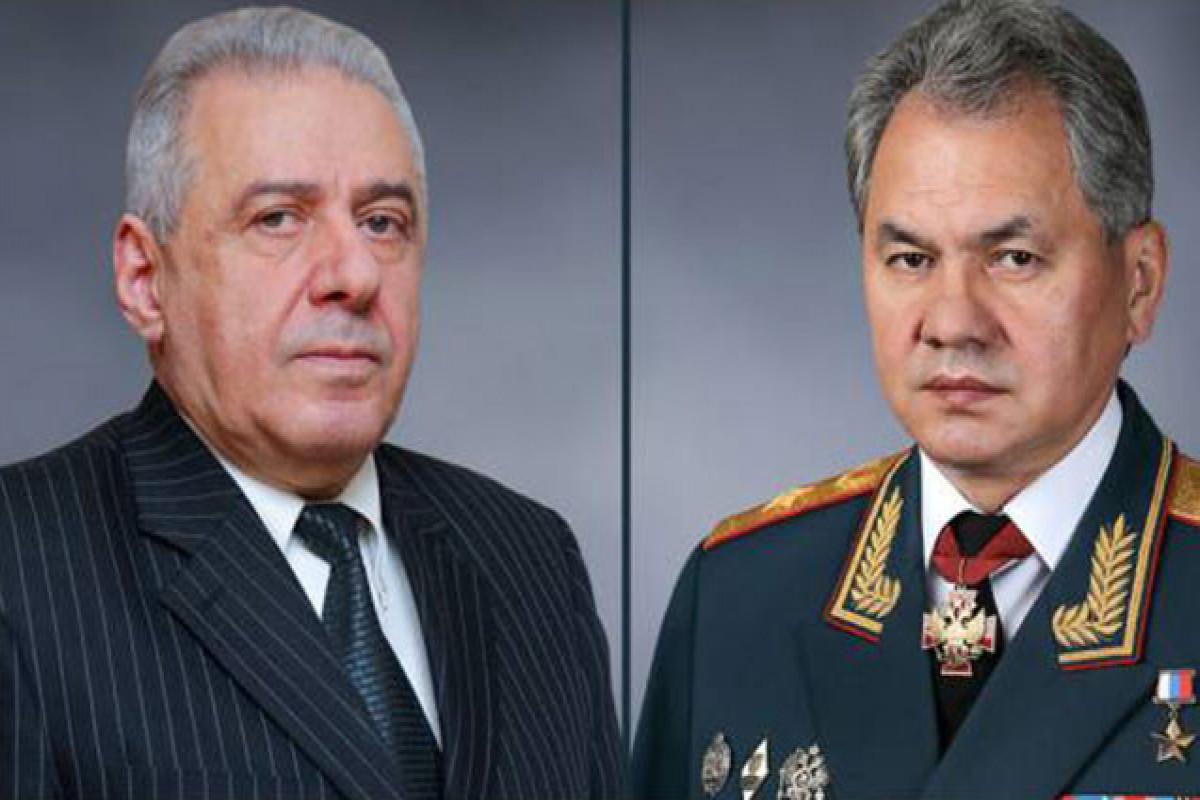 Шойгу обсудил с армянским коллегойразмещение российских пограничников на границе с Азербайджаном