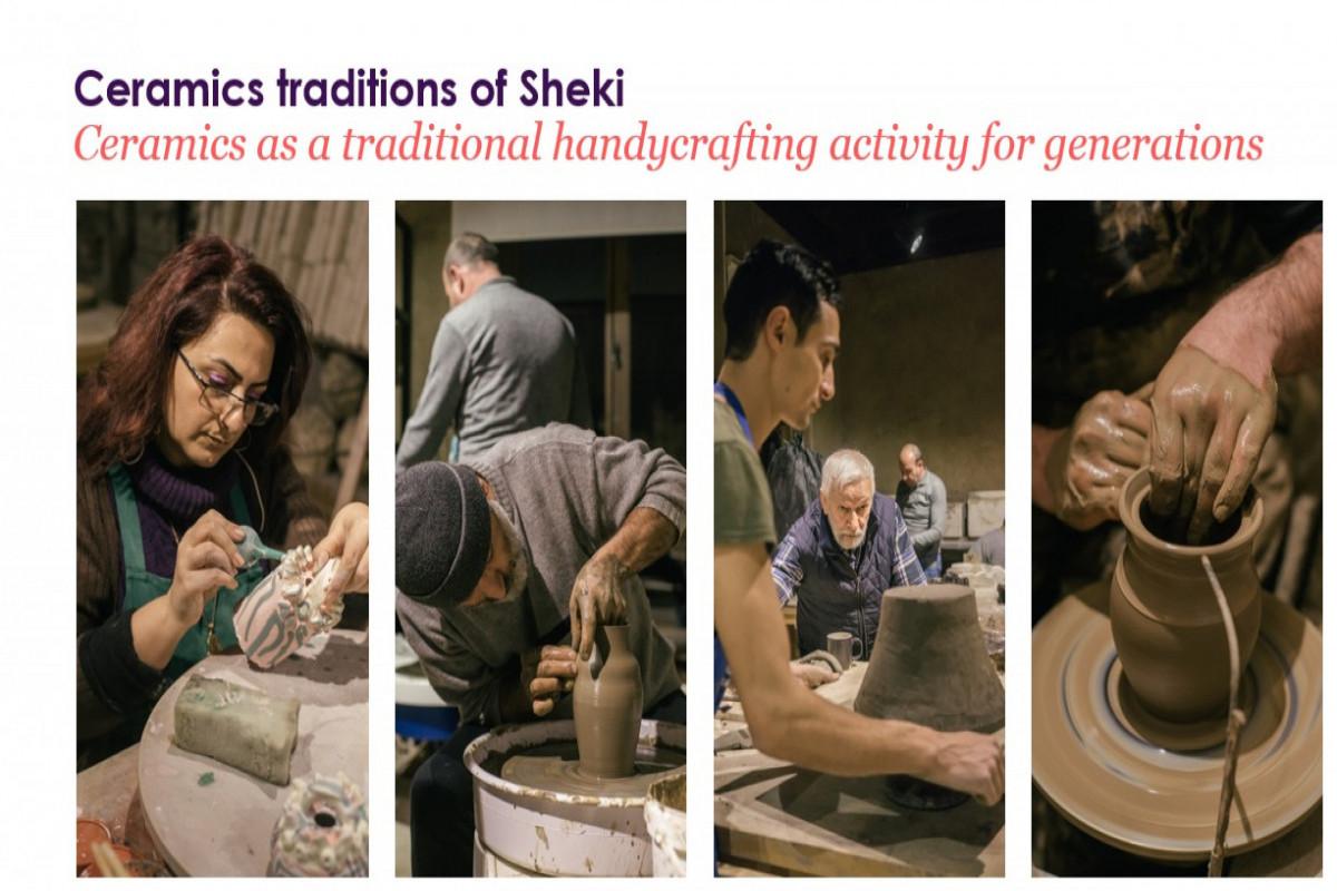 Avropa Şurasının Keramika Assosiasiyasında Şəki şəhərinin təqdimatı olub