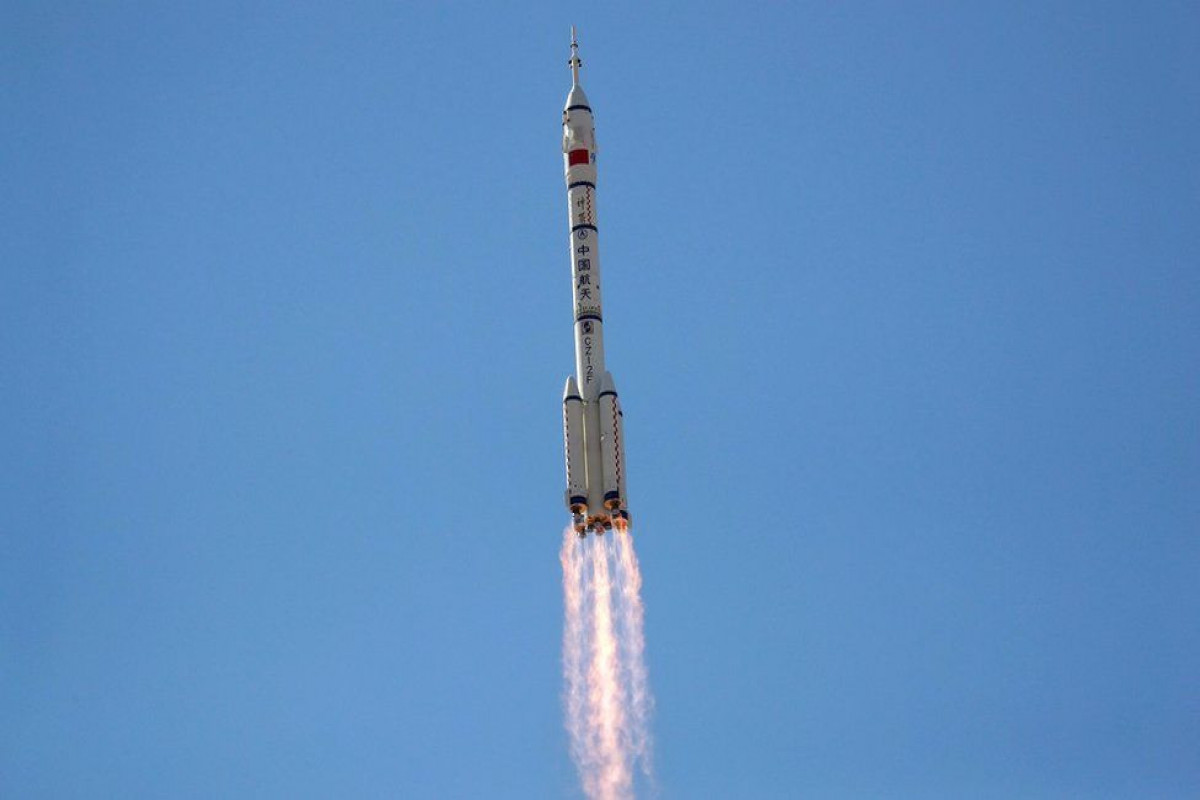 First crew blasts off to new China space station