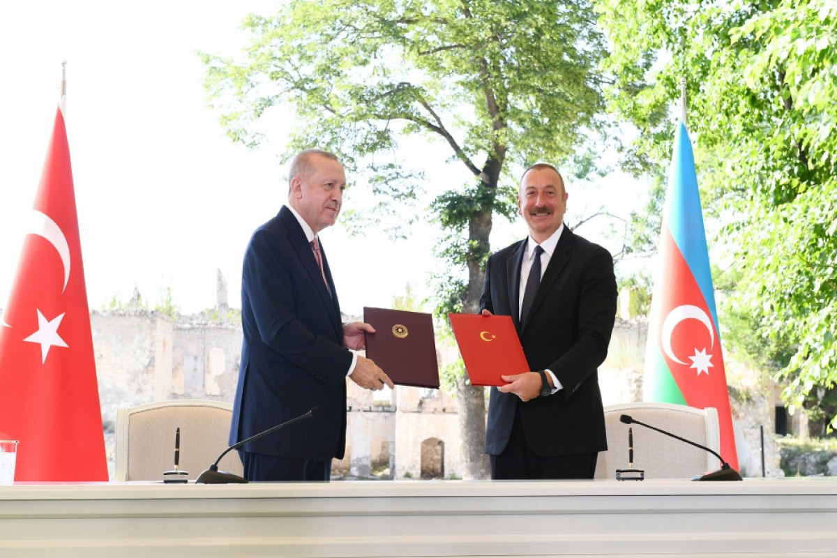 """Shusha Declaration on Allied Relations between the Republic of Azerbaijan and the Republic of Turkey - <span class=""""red_color"""">FULL TEXT</span>"""