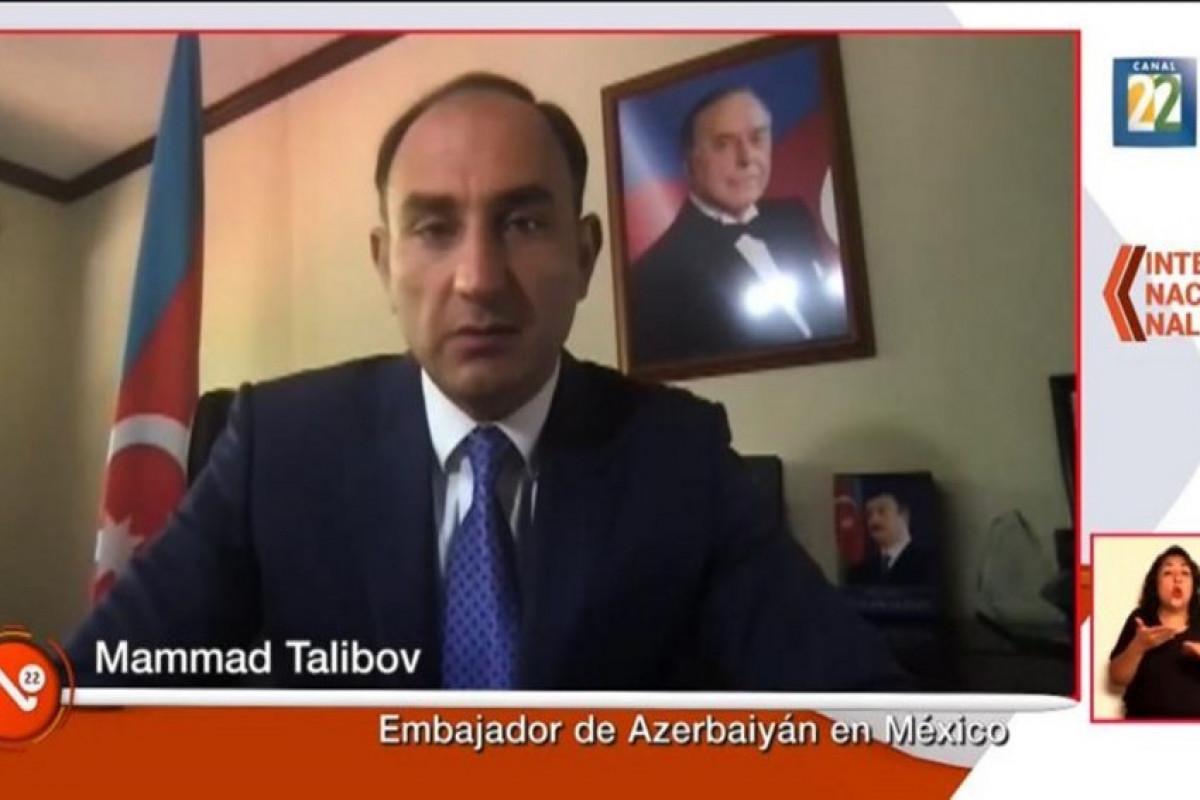 Мексиканское государственное телевидение рассказало о массовых разрушениях, совершенных армянами