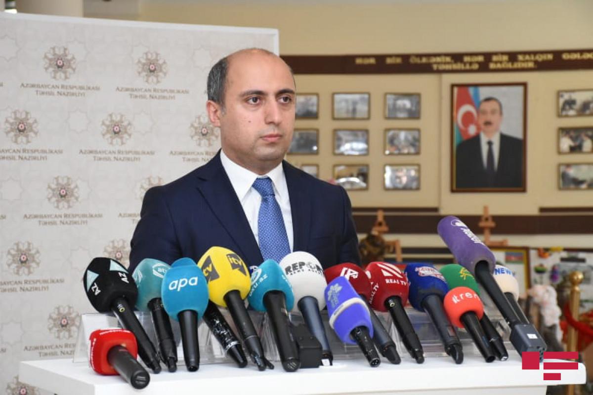 """Təhsil naziri: """"Dövlət sifarişli təhsil alanların sayı 50 faizə çatdırılacaq"""""""