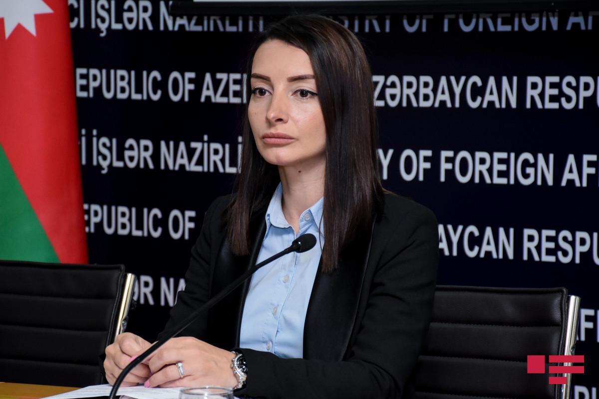 Azerbaijani MFA Spox appeals to int