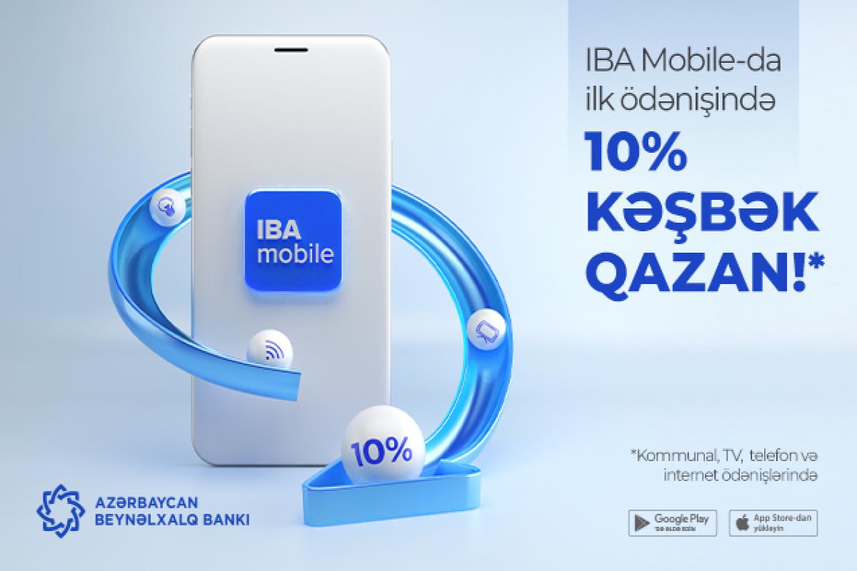 """""""IBA Mobile"""" istifadəçiləri üçün kampaniya keçirilir"""