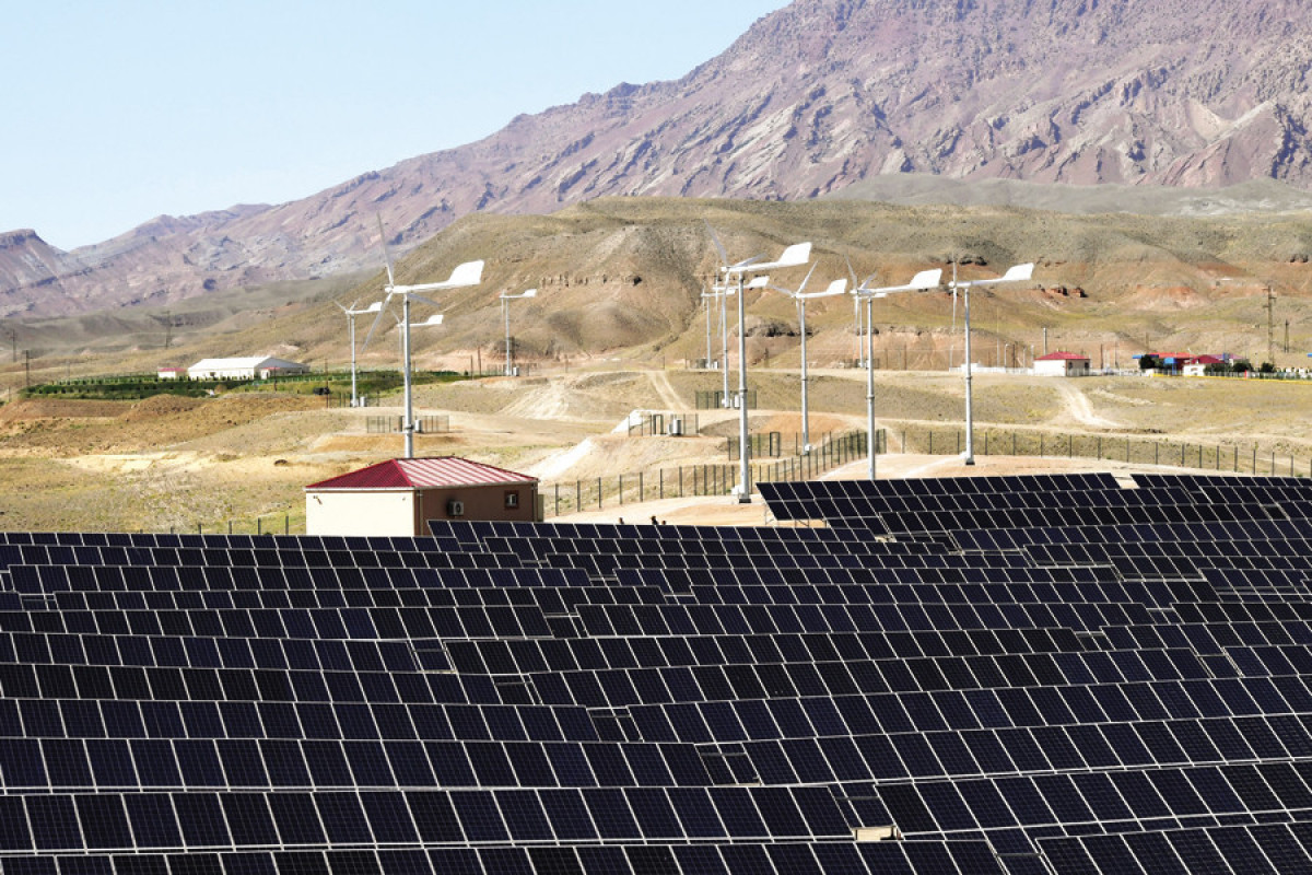 Naxçıvanda Külək-Günəş Hibrid Elektrik Stansiyası istifadəyə verilib