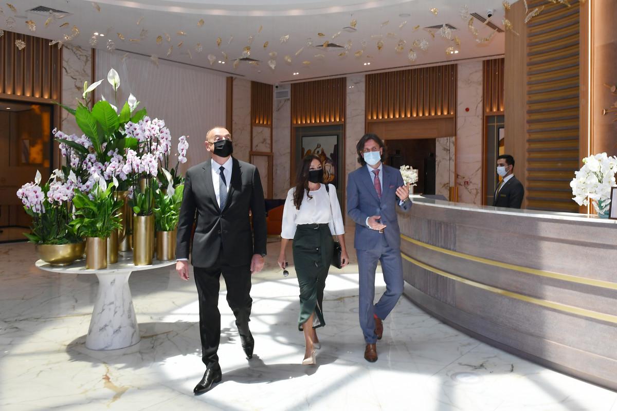 """Prezident İlham Əliyev Bakıda """"Intercontinental"""" otelinin açılışında iştirak edib - <span class=""""red_color"""">YENİLƏNİB - <span class=""""red_color"""">VİDEO"""