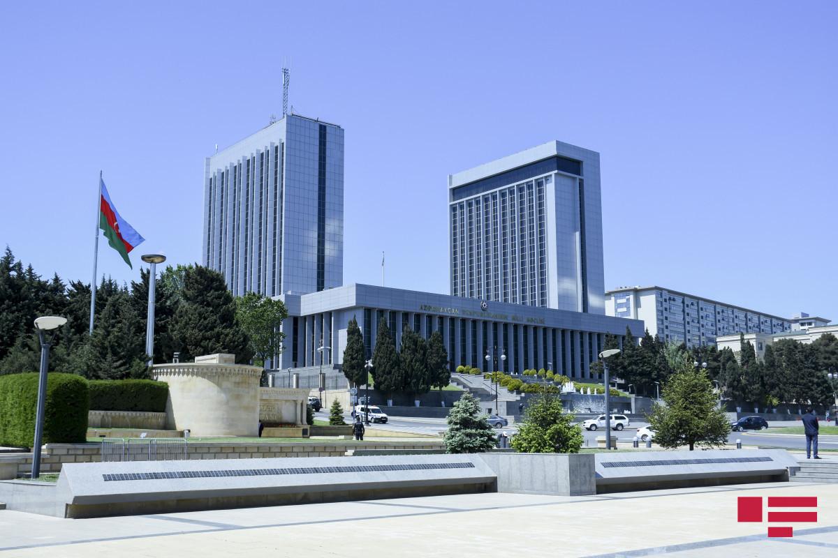 Date and agenda of Azerbaijani Parliament