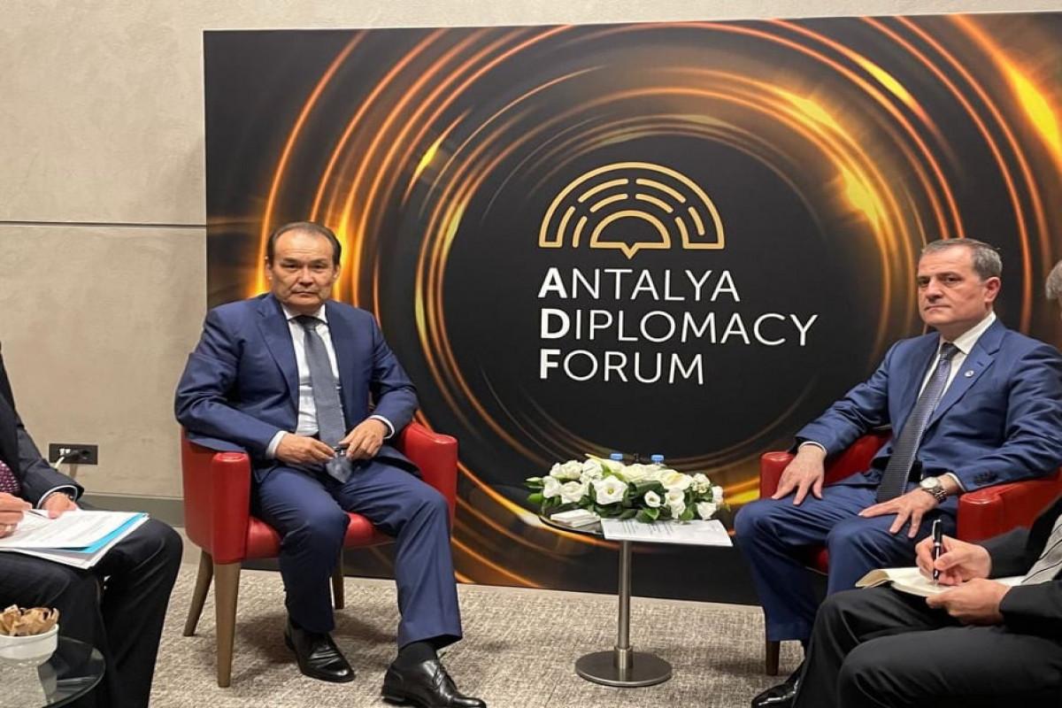 Azerbaijani FM met with Secretary-General of Turkic Council