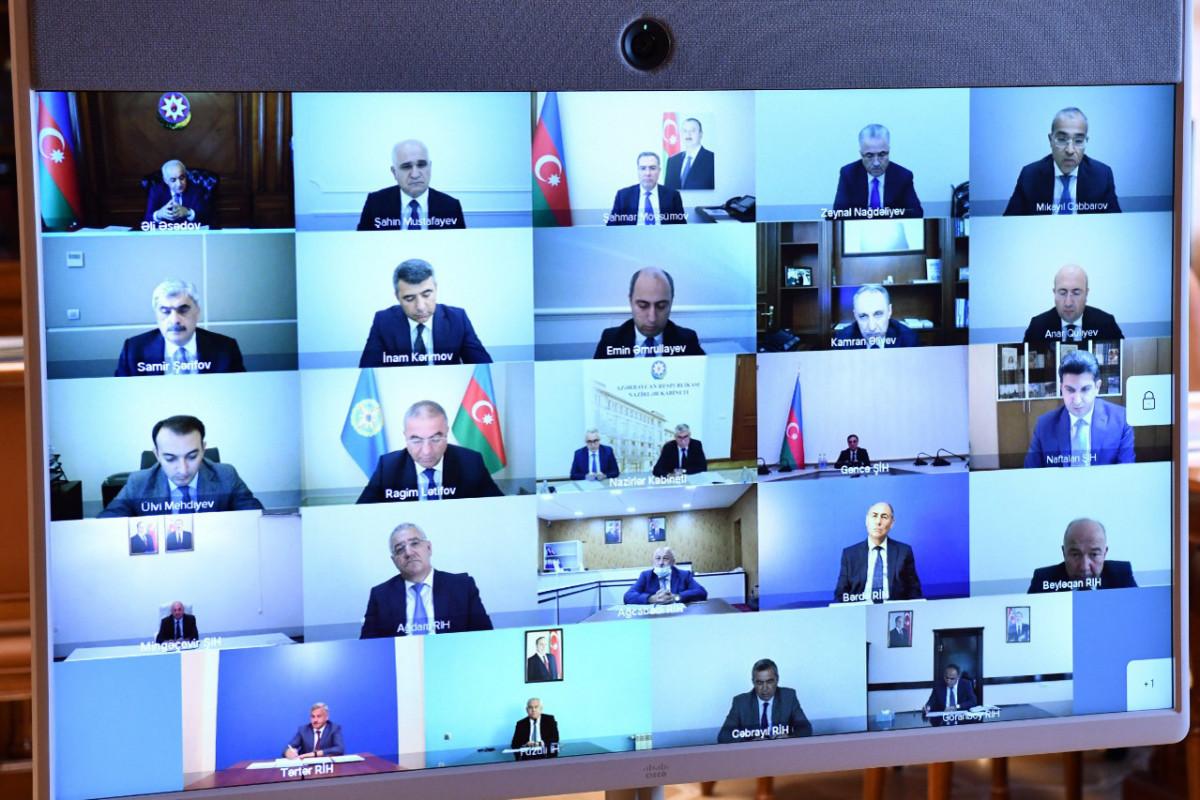Обсуждены вопросы, связанные с устранением ущерба от агрессии Армении