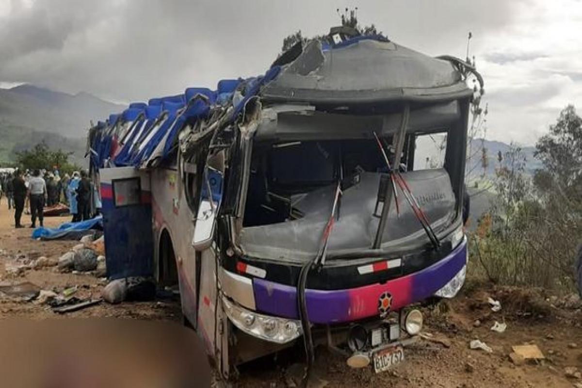 В Перу 27 человек погибли в ДТП с автобусом